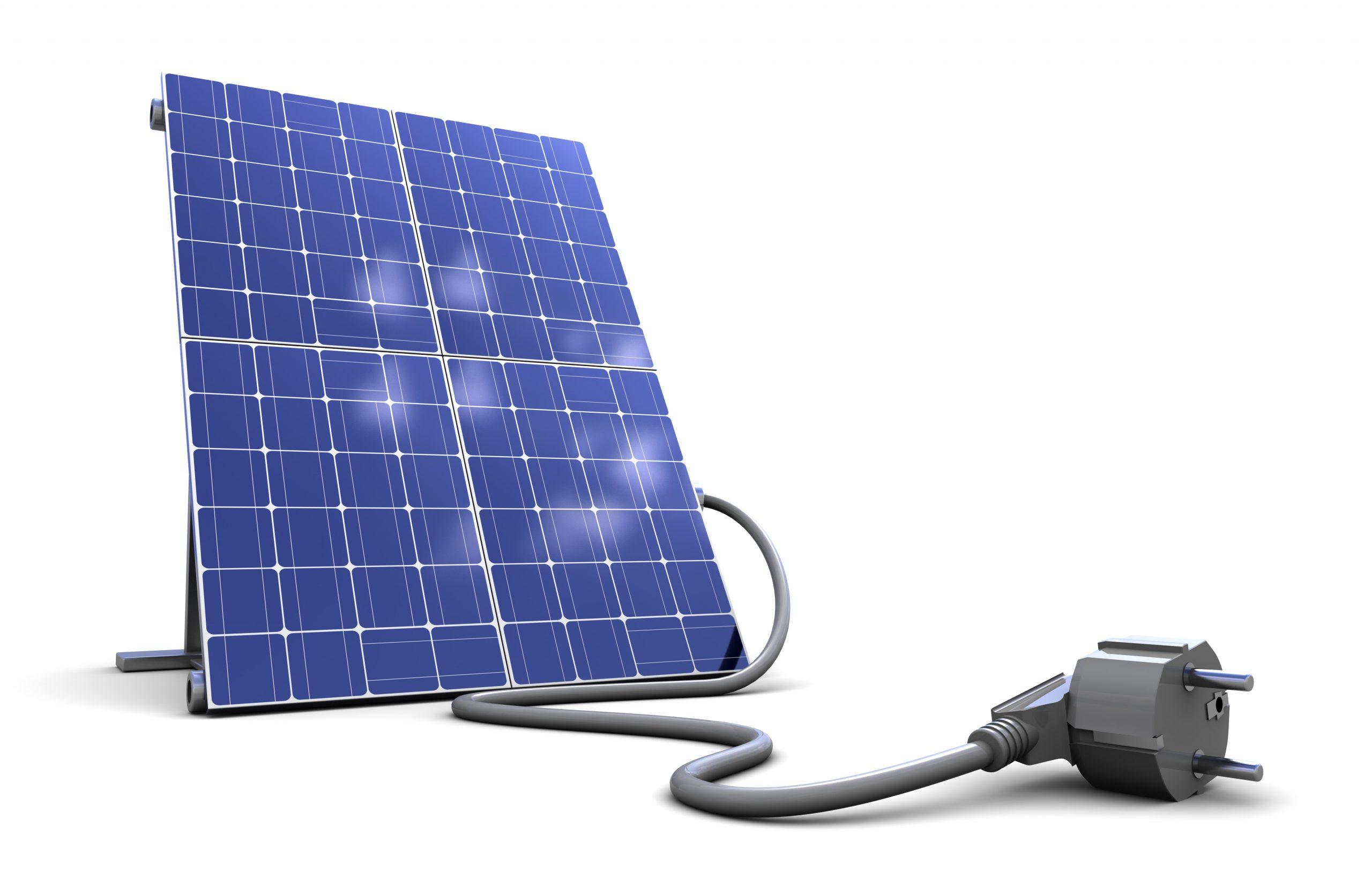 Stecker Solaranlage Balkonsolar